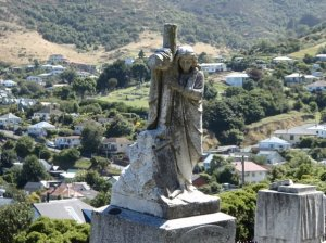 Cemetery in New Zealand